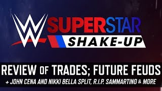 WWE Superstar Shake-up 2018 Results & Future Feud Projections & More (Smack Talk 333 Hot Tags)
