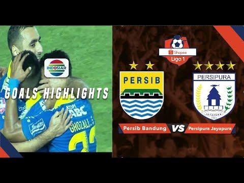 Persib Bandung (3) vs Persipura Jayapura (0) - Goal Highlights | Shopee Liga 1