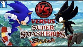 Super Smash Bros. Brawl - Sonic vs Dark Sonic (Dolphin Emulator)