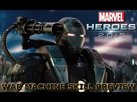 Marvel Heroes: War Machine Skill Preview