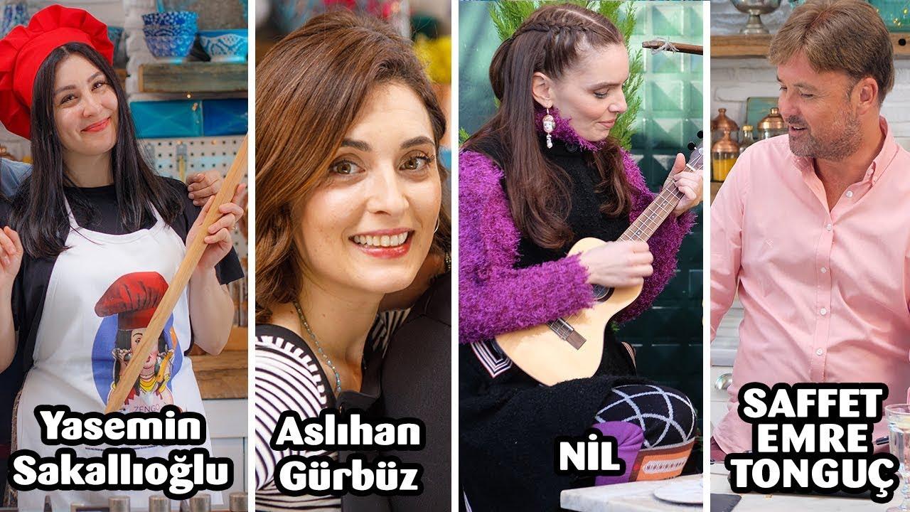 Aslıhan Gürbüz, Yasemin Sakallıoğlu, Nil Karaibrahimgil ve Saffet Emre Tonguç ile Komik Anlar