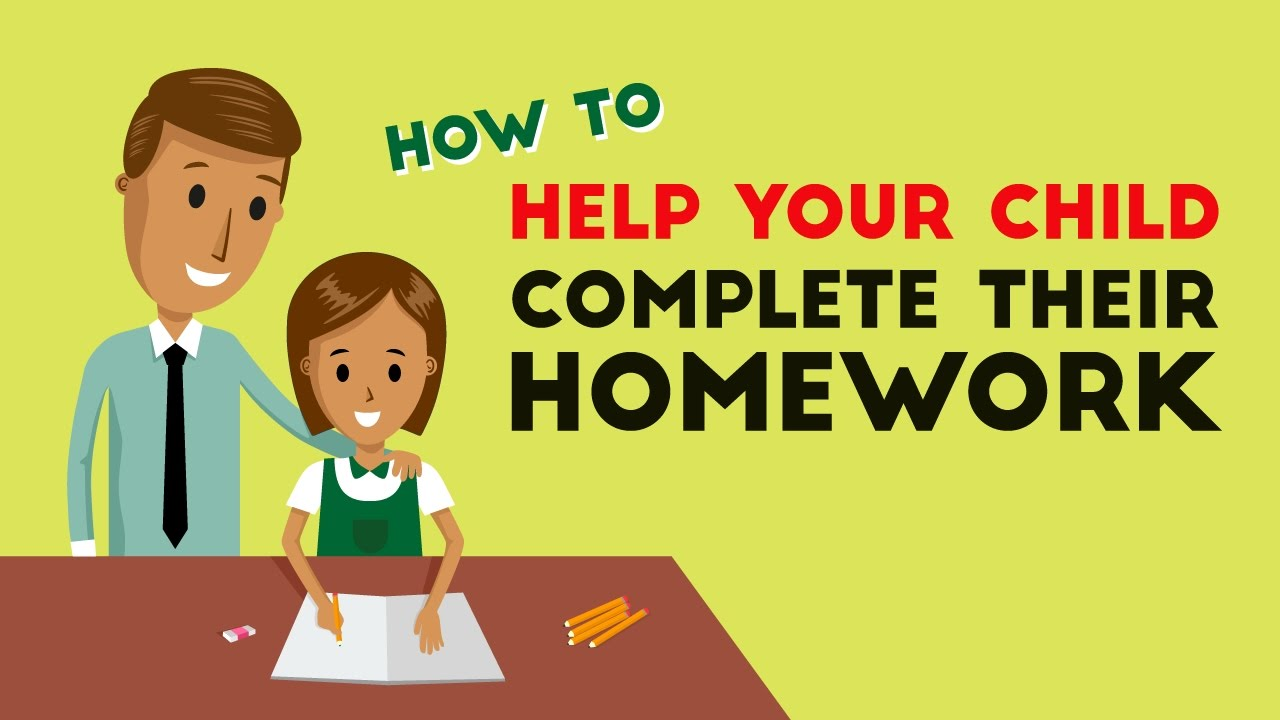 How To Help Your Child Complete Their Homework