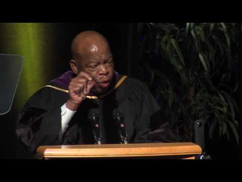 Congressman John Lewis Commencement Address for UC Davis School of Law Class of 2016