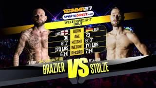 BAMMA 27: Terry Brazier vs Niklas Stolze