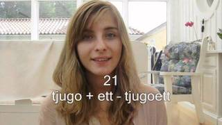 MaggieHebrew's Swedish Lesson 3 - How to count to a hundred