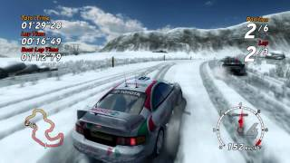 Sega Rally PS3 Gameplay Test