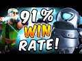 91% WIN RATE! CURRENT BEST DECK IN CLASH ROYALE!