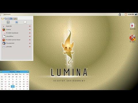 Lumina Desktop Build in FreeBSD / TrueOS - BSD Licensed Desktop Environment