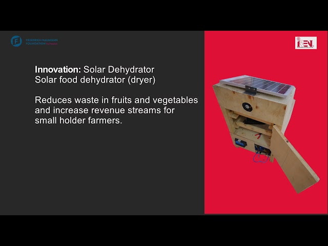 Solar Powered Hatchery Machine   Erick K, Janeth C, Brain F, Ernest K, Alsy C   ITIP2020 Innovators