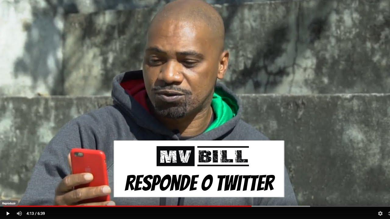 MV BILL RESPONDE as perguntas enviadas via Twitter @mvbill