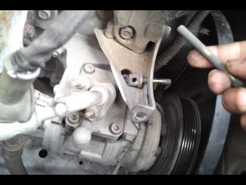 Diy 1999 Honda 2 3l Alternator Replacement Pt1