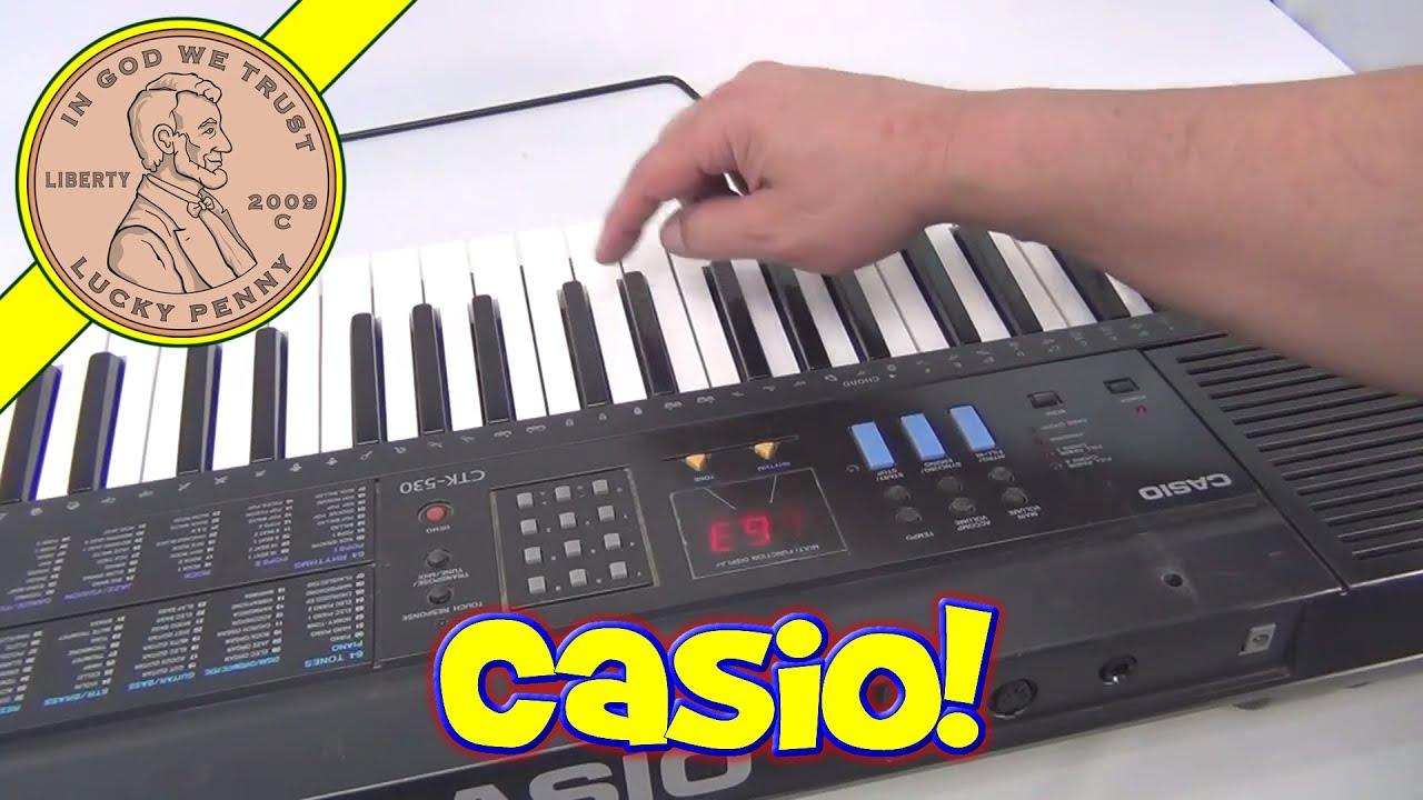 casio ctk 530 touch sensitive electronic keyboard piano youtube rh youtube com Casio CTK- 5000 Casio Keyboard CTK 591