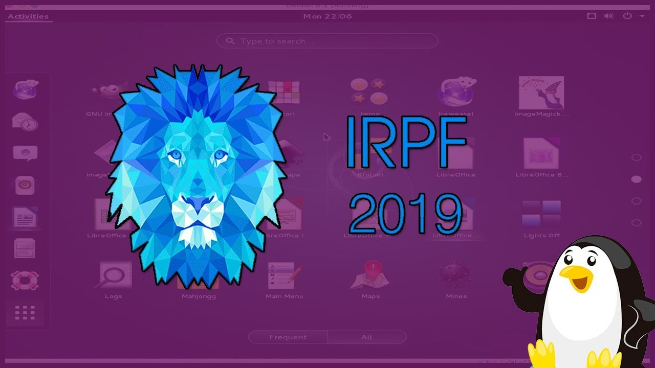 Como instalar IRRF2019 no LINUX