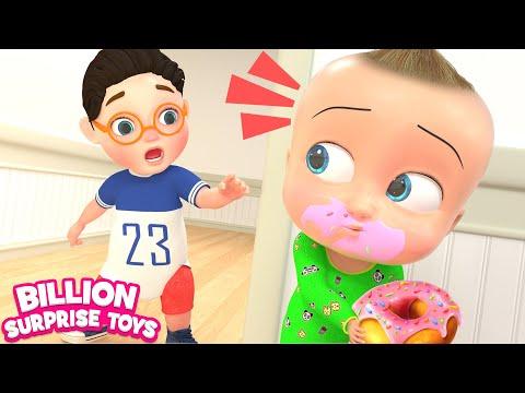 Johny Johny Yes Papa 3D | FAMILY Version | Baby Nursery Rhymes & Kids Songs