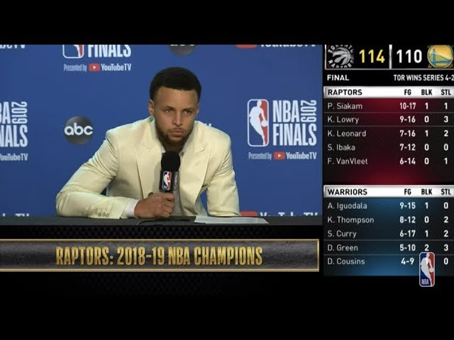Stephen Curry Press Conference | NBA Finals Game 6