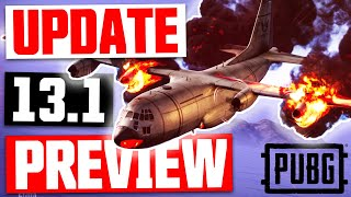 PUBG UPDATE 13.1 // Patch Notes Reviewed - New air drops, PLANE CRASH event & SNIPER BUFF