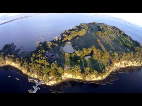 Satellite Island, Tasmania, Australia