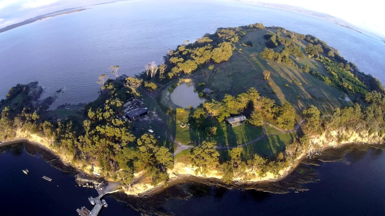 Satellite Island, Tasmania, Australia - YouTube