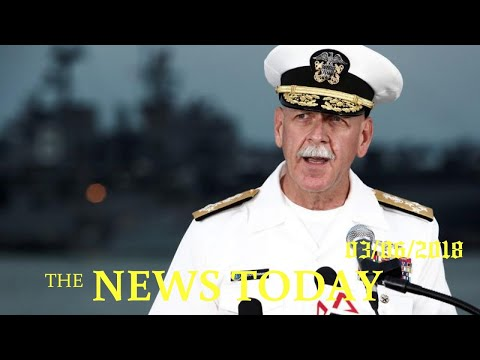 U.S. Pacific Fleet Commander Says China's Military Budget Lacks Transparency | News Today | 03/...