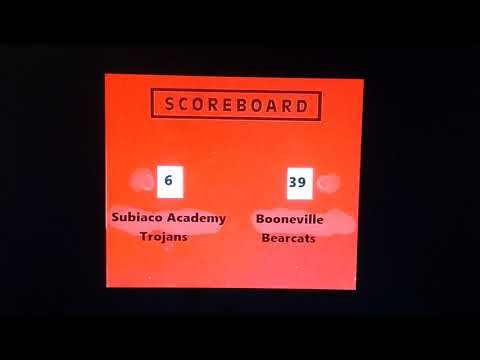 The Booneville VS Subiaco Academy Results