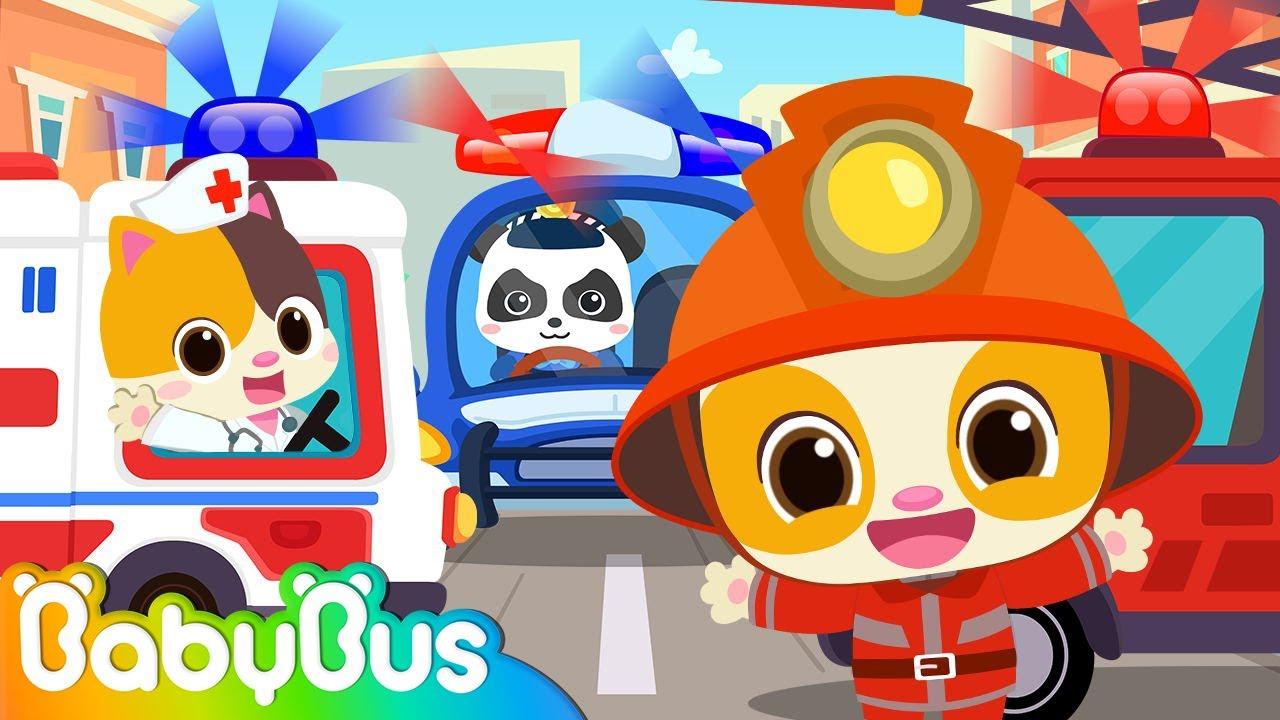 Jobs Song for Kids - Doctor, Firefighter, Policeman👮 | Nursery Rhymes | Kids Songs | BabyBus