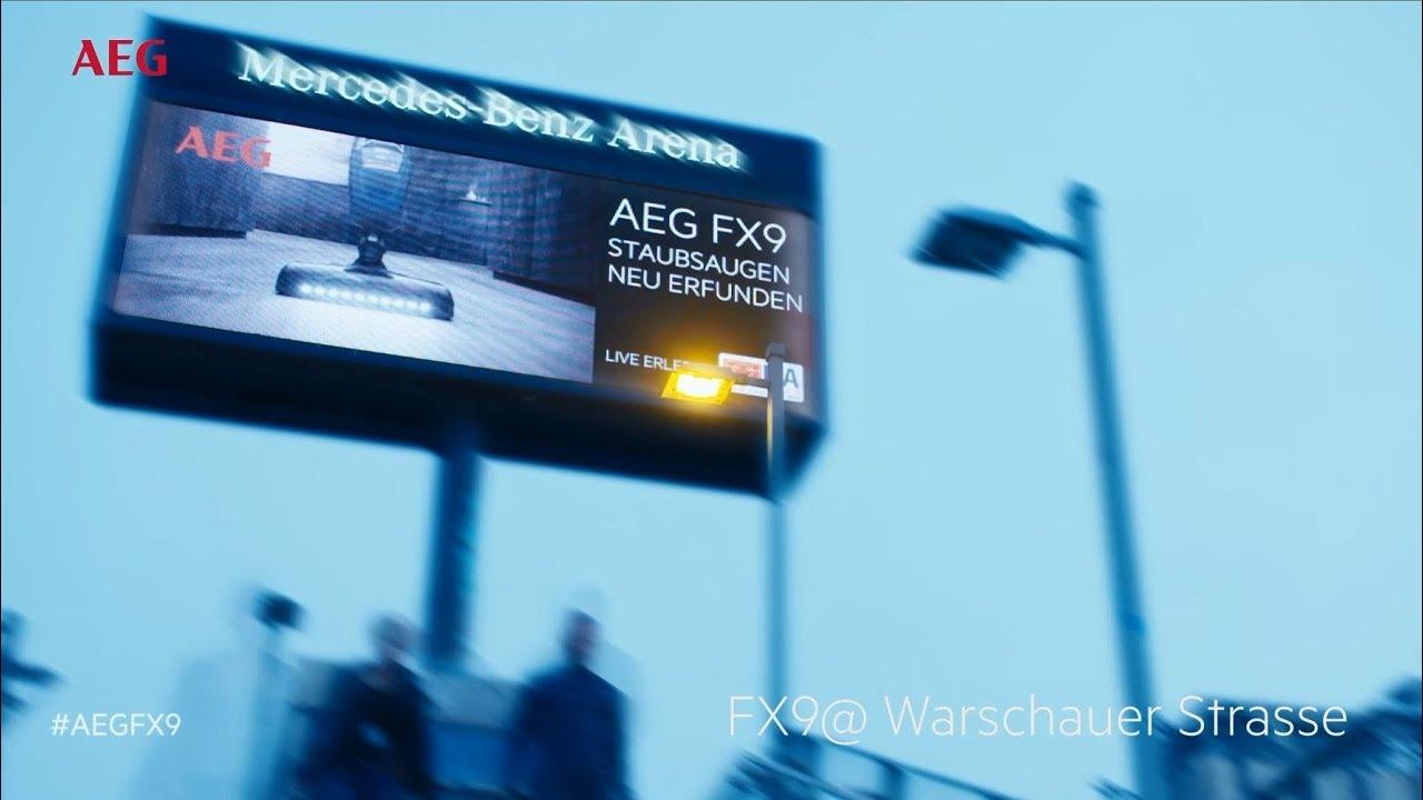 AEG FX9 Launch Deutschland | FX9-1-IBM | Akku-Staubsauger