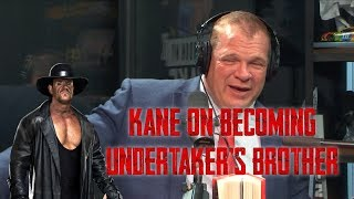 WWE Legend Kane Breaks Down The Pressure Of Becoming The Undertaker's Brother