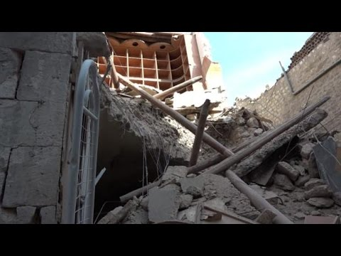 CBC Reporter takes an eerie walk through a deserted Aleppo