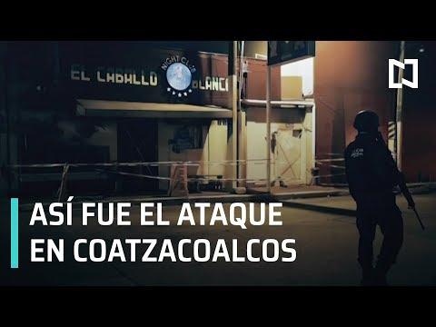 Así fue el ataque en Coatzacoalcos | Tragedia en Coatzacoalcos - En Punto con Denise Maerker