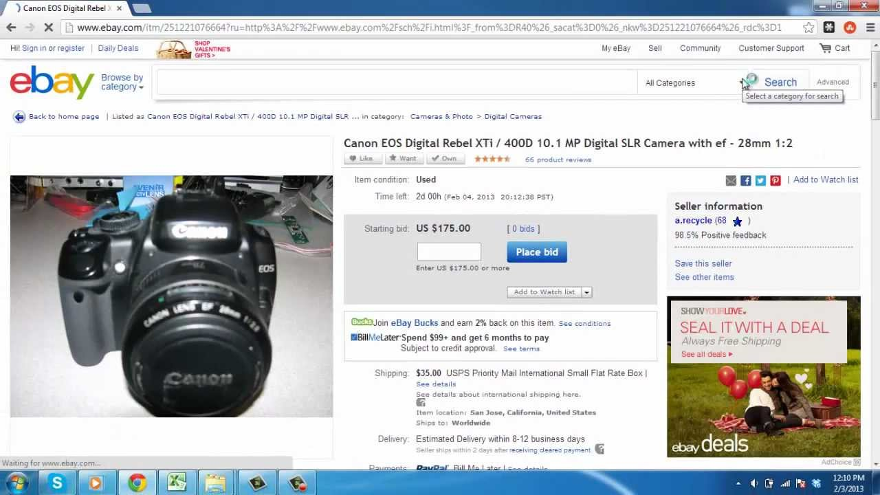 How To Check Ebay Tracking Number Youtube