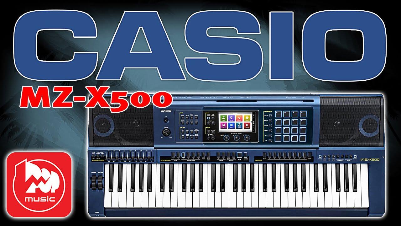 Обзор синтезатора CASIO MZ-X300 - YouTube