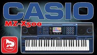 Синтезатор CASIO MZ-X500 (Новинка 2016 года, профессиональная модель)(, 2016-04-18T06:12:33.000Z)