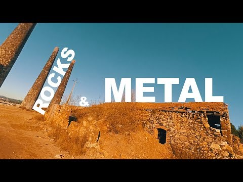 FPV Drone FreeStyle - Just Metal and Rocks || Round 1