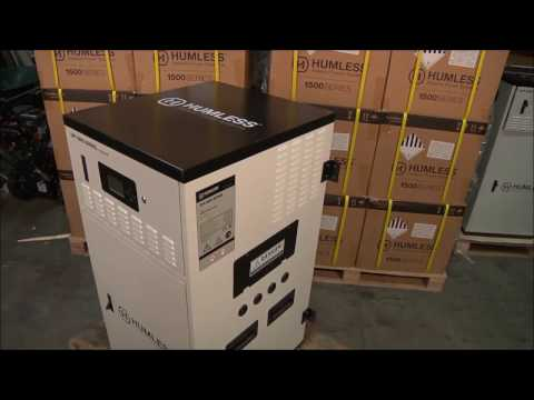 Humless Off-Grid Series 12 kWh Home Backup Battery Powered Generator Overview