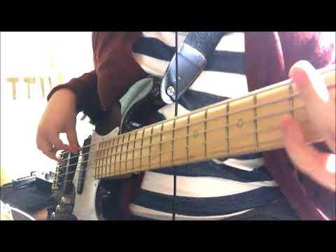 ゆるきゃん△OP亜咲花[SHINY DAYS] bass cover