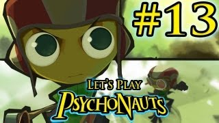 PsychoNauts Gameplay Walkthrough | Part 13 | QUEST FOR THE PLUNGER!