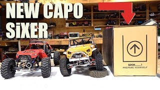 NEW RELEASE! UNBOXING the CAPO SiXER 1/6 Scale SAMURAI 4x4 TRAIL TRUCK Build Kit | RC ADVENTURES