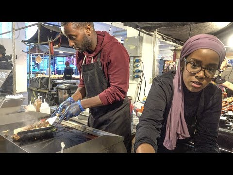 Exotic Food from Somalia. London Street Food