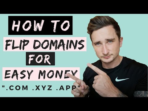 HOW TO FLIP DOMAINS FOR EASY MONEY ($2500+)