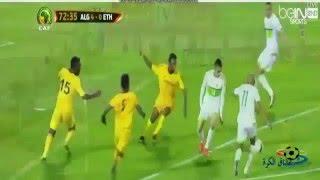 ملخص مباراه الجزائر و إثيوبيا 7-1  تصفيات كأس أمم أفريقيا 2016