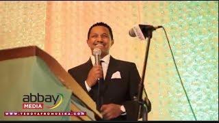 Teddy Afro - Honoring Gala Dinner Event (June 24, 2017)