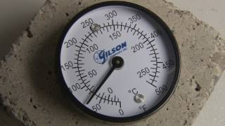 Gilson Dual Range Surface Dial Thermometers (MA-125, 126, and 127)
