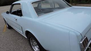 1965 Ford Mustang light blue for sale at www coyoteclassics com