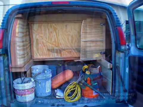Van Cabinets Construction Montage Youtube