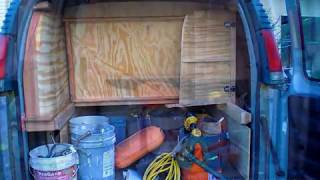 Van Cabinets Construction Montage