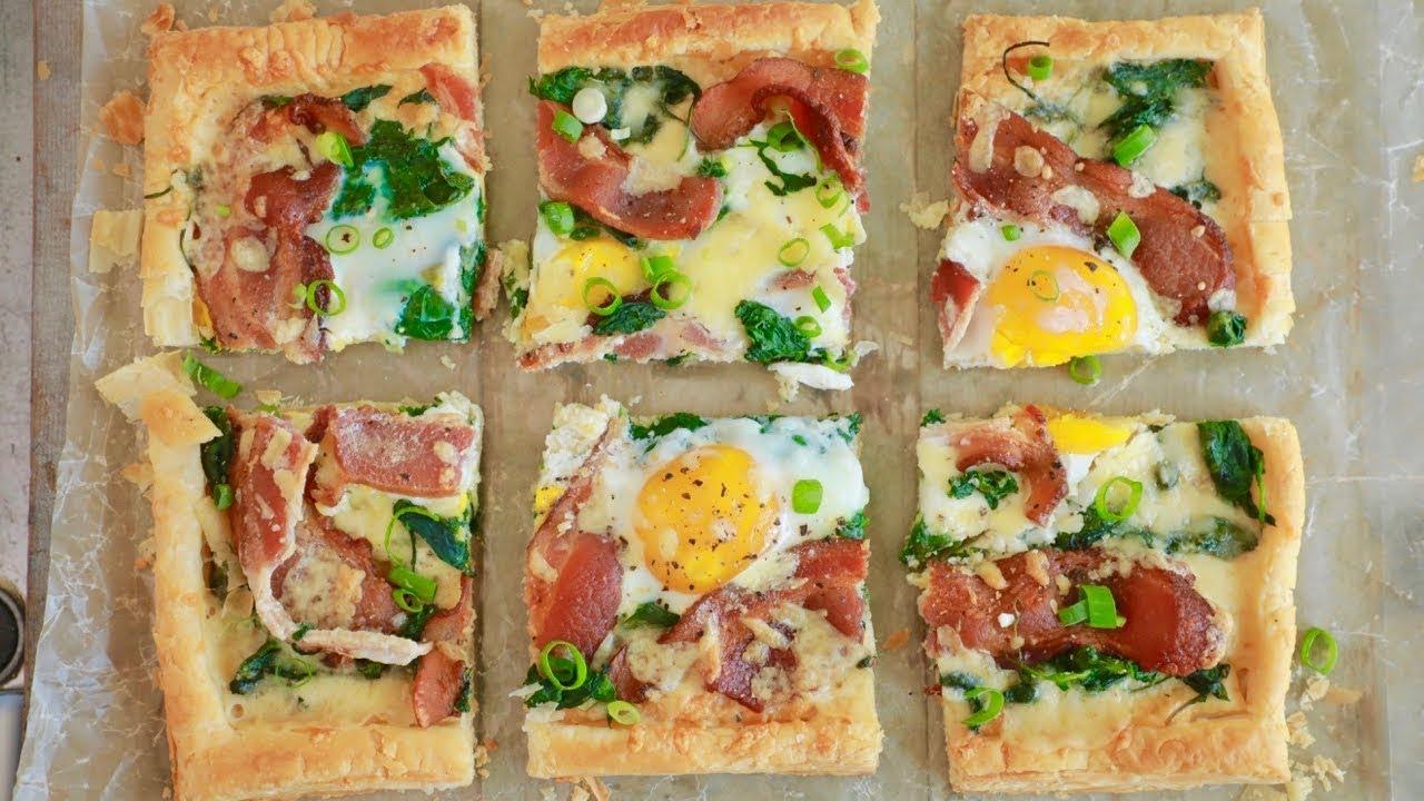 Toaster Oven Breakfast Tart - Gemma's Bigger Bolder Baking