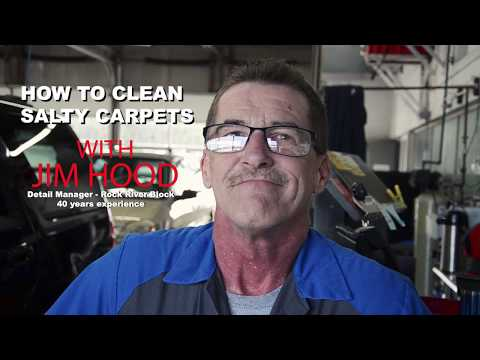 How To Clean Salt Out Of Your Vehicle's Carpet With Jim At Rock River Ford In Rockford, IL