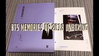 BTS  MEMORIES OF 2018 DVD UNBOXING (2018 메모리즈 언박싱)