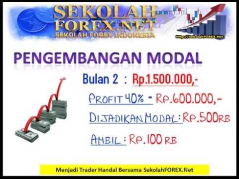 Cari modal untuk trading forex