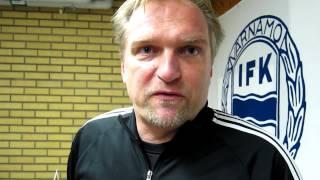 Jörgen Petersson intervjuas av Värnamo Nyheter